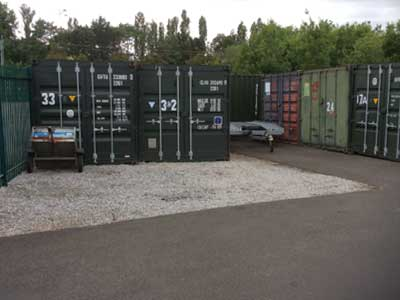 North Yorkshire Temporary Self Storage Unit